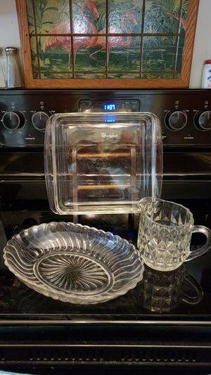 3 Pieces Glass Kitchenware for Sale in Mechanicsville, VA