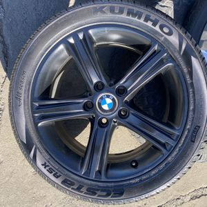 "17"" 4 used Wheels Bmw 3330i for Sale in Gilroy, CA"