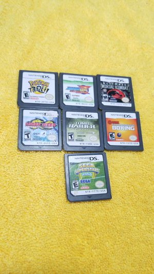 Nintendo 3ds/DS Games...7 GAMES!!!! for Sale in Chula Vista, CA