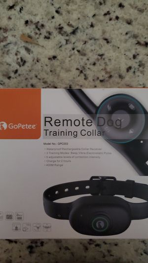 Dog training collar for Sale in Richmond, VA