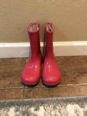 Girls rain boots size 12 for Sale in Parkland, WA