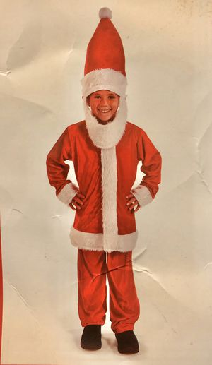 Santa Clause Costume: kids Child for Sale in Downey, CA