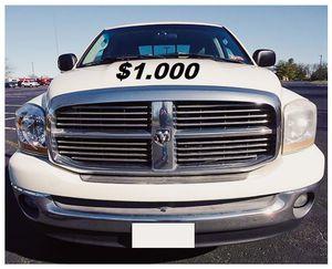 ☑️For Sale 2006 Dodge Ram 1500 SLT $1000 for Sale in Washington, DC