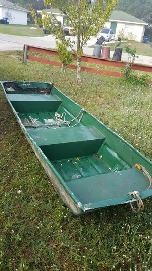 10' Jon boat with trailer no title for Sale in Bradenton, FL