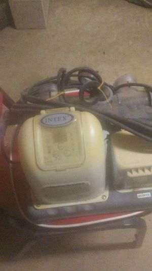 Intex saltwater pump for Sale in Lake City, AR