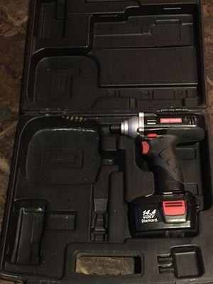 Craftsman impact drill 14.4volts. for Sale in Alexandria, VA