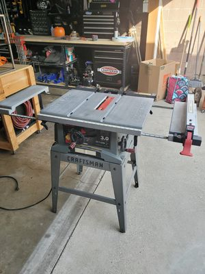 """10"""" Craftsman Table Saw for Sale in Ontario, CA"""