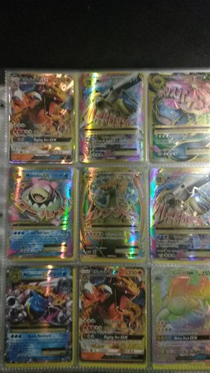Insane Pokemon collection gx ex holos and some rares for Sale in Sterling Heights, MI