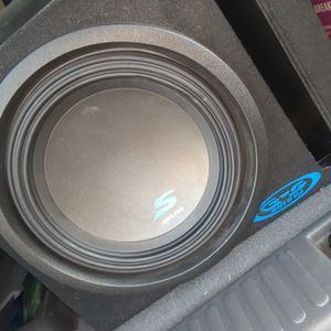 Alpine Type S 10inch Subwoofer with amp for Sale in Tulare, CA
