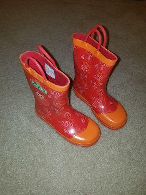 Kids Sesame Street Elmo Rain Boots - Size 10 for Sale in Alpharetta, GA