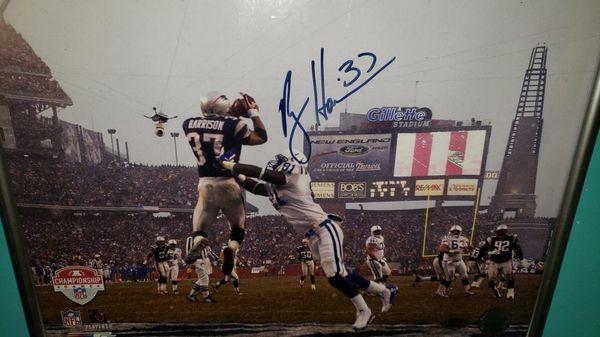 Rodney Harrison signed photo