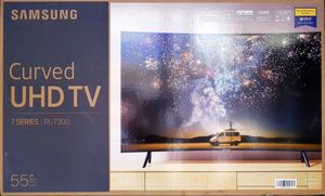2019 55 inch Samsung curved smart TV for Sale in Stone Mountain, GA