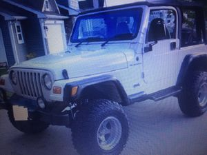 2000 Jeep Wrangler Price$1OOO for Sale in Dallas, TX