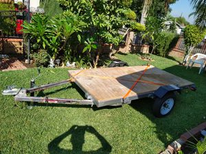 Utility Trailer 8 1/4 x 4 (Like New)$600 OBO for Sale in City of Industry, CA
