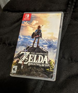 Zelda Breath of the Wild / Nintendo Switch / for Trade for Sale in Lowell, MA