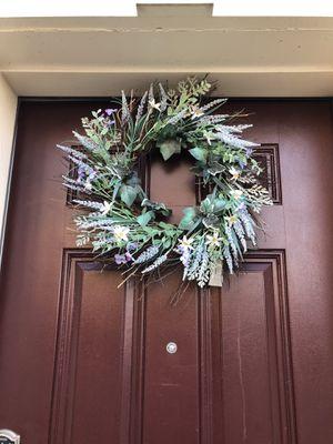 Front door wreath for Sale in Hanover, MD