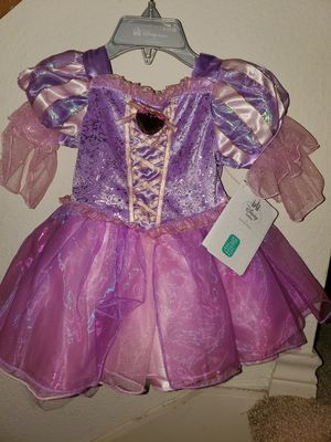 Disney Rapunzel Baby dress with shoes nwt for Sale in San Antonio, TX