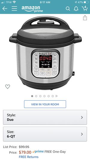 Electric Pressure Cooker - mint for Sale in Tigard, OR