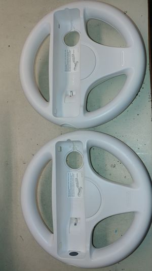 Nintendo Wii / Wii U steering wheels - $10 each for Sale in Aumsville, OR