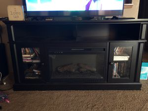 Fireplace entertainment stand for Sale in Tacoma, WA