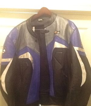 Motorcycle Jacket Genuine Leather for Sale in Lawton, OK