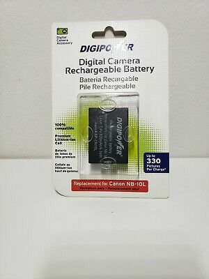 Digipower Digital Camera Rechargeable Battery Canon Nb-10L for Sale in Phoenix, AZ