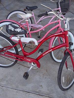 3 bicicletas electra y hufy y townie for Sale in Perris, CA