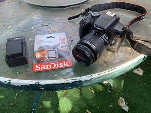 Canon rebel t6 for Sale in Santa Cruz, CA
