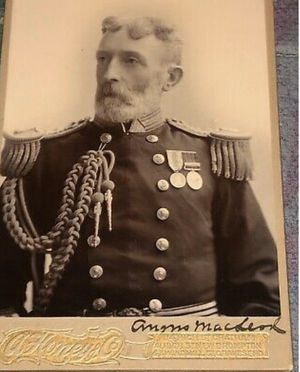 ANTIQUE CABINET CARD PHOTO OF ADMIRAL FROM 1800's for Sale in The Bronx, NY