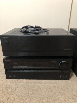 Onkyo Receiver & Amplifier for Sale in Monterey Park, CA