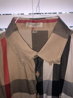 Burberry Button up for Sale in Davie, FL