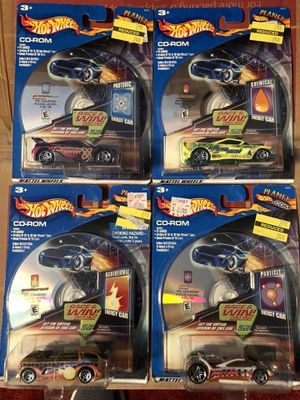 Hot Wheels Planet with CD. New on card for Sale in Auburn, WA