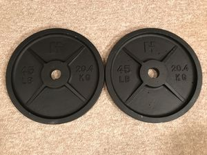 Olympic Weight Plates 45's for Sale in Alpharetta, GA