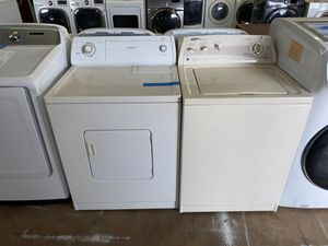 washer & dryer whirlpool set 2lo3735557 for Sale in San Antonio, TX