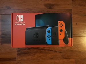 Nintendo Switch V2 Neon/Red (BRAND NEW) for Sale in Las Vegas, NV