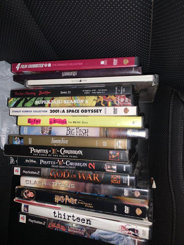 DVDs & games