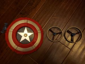 Captain America shield launcher toy for Sale in Irvine, CA