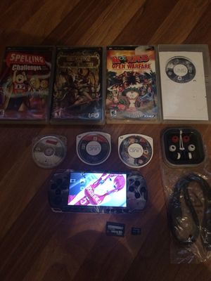 cfw 16gb custom skinned psp for Sale in Marengo, OH