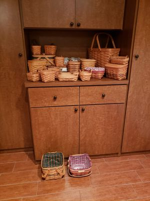 Longaberger Baskets for Sale in Tampa, FL