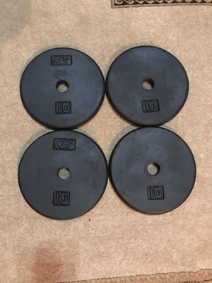 Weight Plates 40 lbs for Sale in Alpharetta, GA