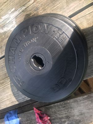 Weight plates for Sale in Streamwood, IL