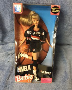 Portland Trail Blazers Barbie for Sale in Clackamas, OR