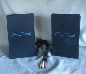 Ps2 console's and 3 ps3 games for Sale in Dallas, GA