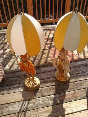 1 pair unique table lamps for Sale in Alexandria, VA