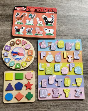 Toddler Puzzels for Sale in Fullerton, CA