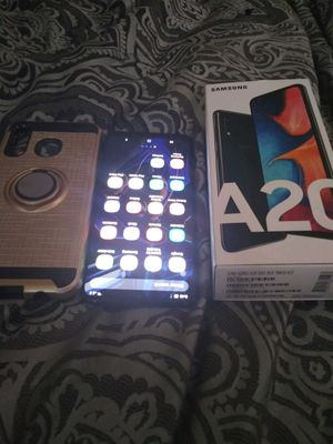 Samsung Galaxy a20 with case for Sale in Phoenix, AZ