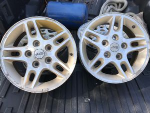 """Jeep Grand Cherokee aluminum wheels 16"""" for Sale in Platte City, MO"""