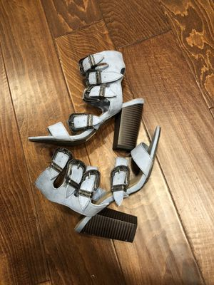 Heeled sandals women's size 6.5 for Sale in Fresno, CA