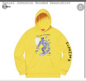 Daniel Johnson Supreme Hooded Sweatshirt (M) for Sale in Leesburg, VA