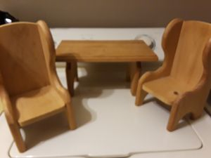 Table and two chairs for Our Generation or American Girl 18 inch doll. Doll not included for Sale in Largo, FL